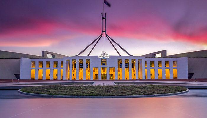 Australian parliament work visa